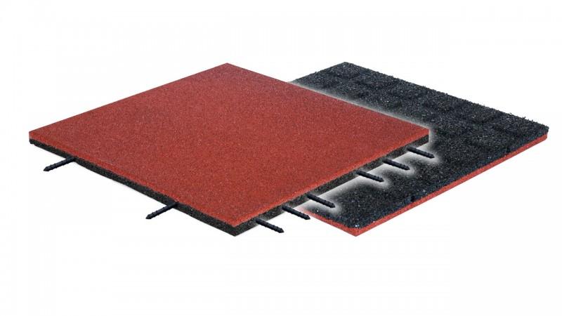 Płytka elastyczna FLEXI-STEP PLUS bezpieczna płytka 500x500x30mm HIC=1,1m