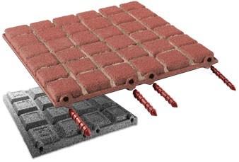 FLEXI-STEP elastyczna płytka BRUK 500x500x45mm