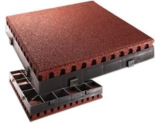 FLEXI-STEP elastyczna płytka 500x500x80mm z systemowym podkładem