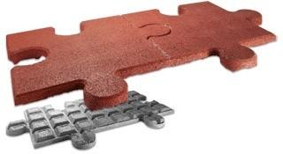 Elastyczna kostka FLEXI-STEP elastyczne puzzle podwójne HIC=1,5m