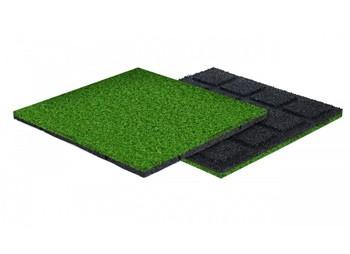 Płytki z trawą