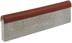 Fleksi-step FEXI-STEP betonowy krawężnik z elastyczną nakładką 1000x295x60/80mm
