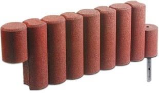 FLEXI-STEP palisada 1000 (9-elementowa) z mocowaniem 1150x150x400 mm