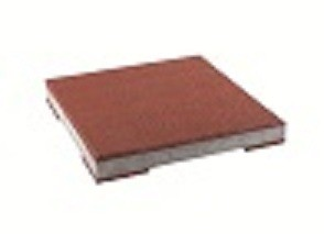 FLEXI-STEP - betonowa płytka z elastyczna podkładką i nakładką  400x400x10/48/10mm